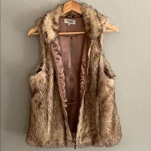 Charlotte Russe fur vest